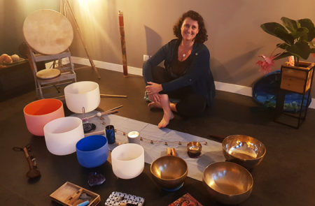 Atelier vibratoire méditation Katia Van Aertryck
