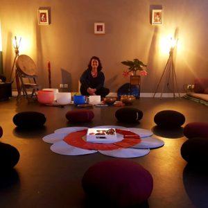 Atelier vibratoire Voyage sonore au coeur du Féminin Katia Van Aertryck