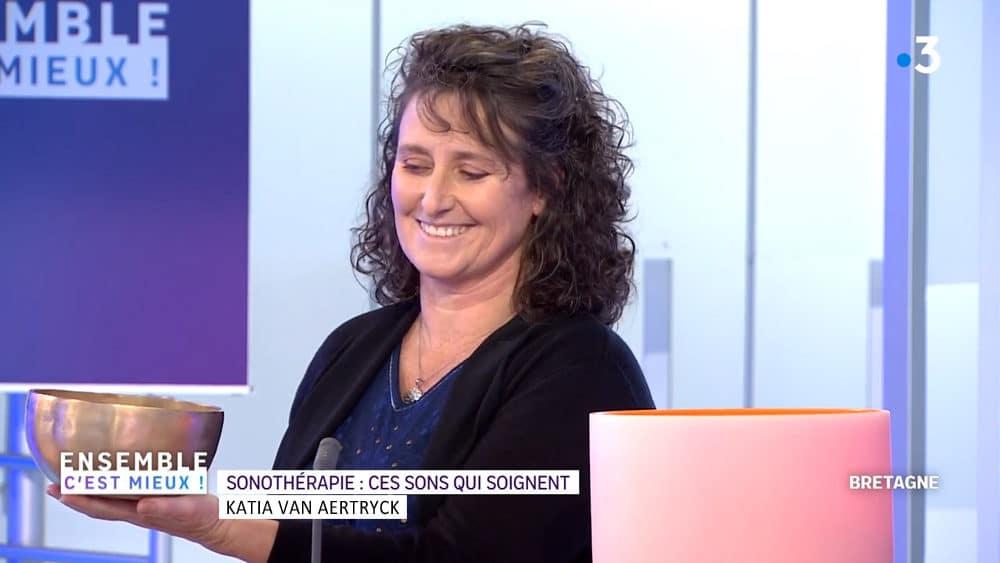 Participation à l'émission Ensemble c'est Mieux FR Région Katia Van Aertryck